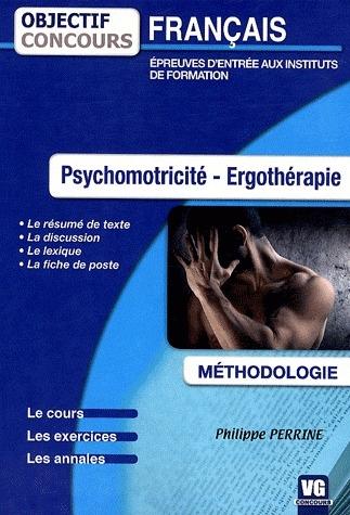 OBJECTIF CONCOURS FRANCAIS PSYCHOMOTRICITE - ERGOTHERAPIE