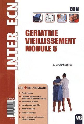 INTER ECN GERIATRIE VIEILLISSEMENT MODULE 5