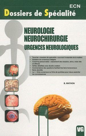 DSP NEUROLOGIE NEUROCHIRURGIE URGENCES NEUROLOGIQUES