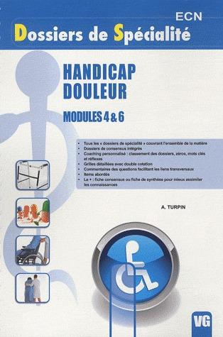 DSP HANDICAP DOULEUR MODULE 4 ET 6