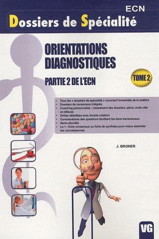 DSP ORIENTATIONS DIAGNOSTIQUES TOME 2
