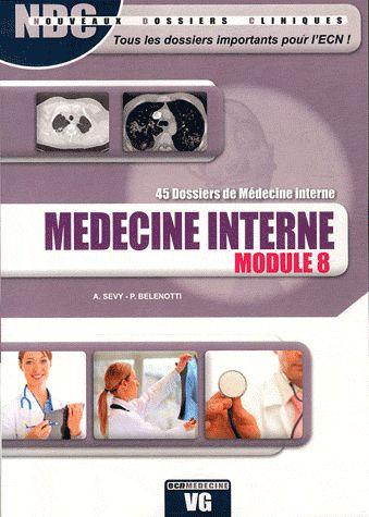 NDC MEDECINE INTERNE MODULE 8