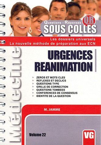 SOUS COLLES QR URGENCE REANIMATION
