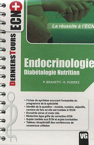 DERNIERS TOURS ECN+ ENDOCRINOLOGIE DIABETOLOGIE NUTRITION