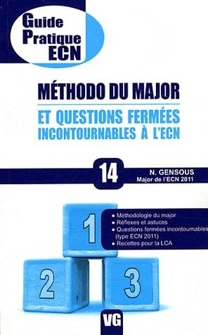 GUIDE PRATIQUE ECN METHODO DU MAJOR