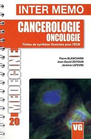 INTER MEMO CANCEROLOGIE ONCOLOGIE