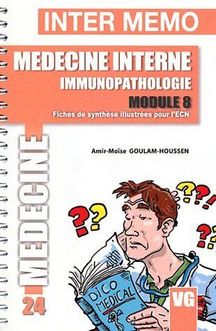 INTER MEMO MEDECINE INTERNE IMMUNOPATHOLOGIE MODULE 8