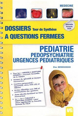 DOSSIERS A QUESTIONS FERMEES TOUR DE SYNTHESE PEDIATRIE