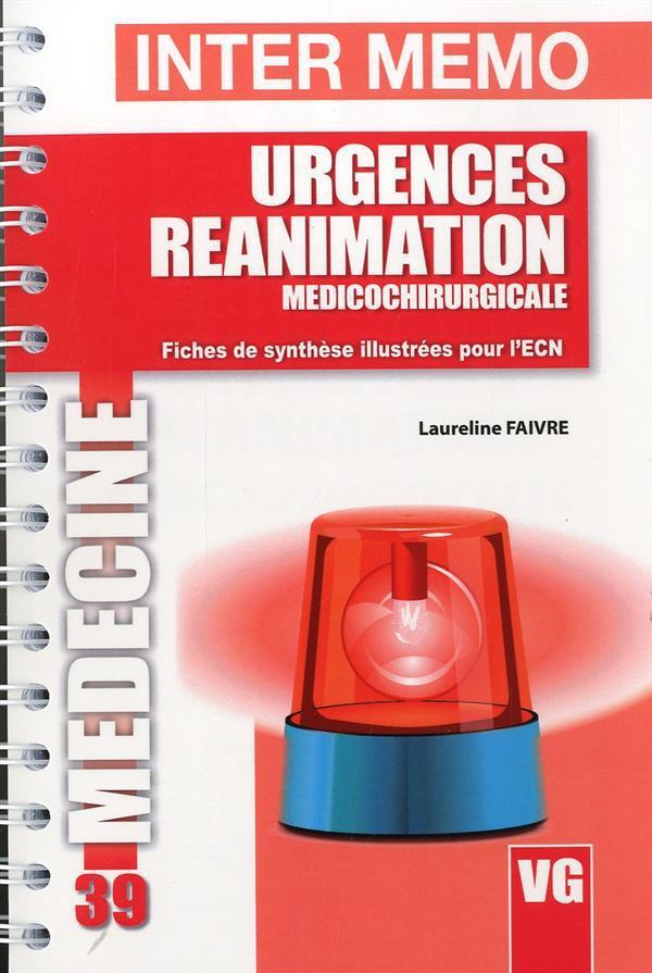 INTER MEMO URGENCES REANIMATION MEDICOCHIRURGICALE