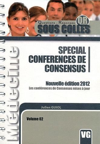 SOUS COLLES QR SPECIAL CONFERENCE DE CONSENSUS 2012