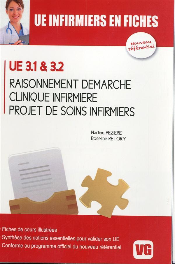 UE INFIRMIERS EN FICHES RAISONNEMENT DEMARCHE CLINIQUE INFIRMIERE