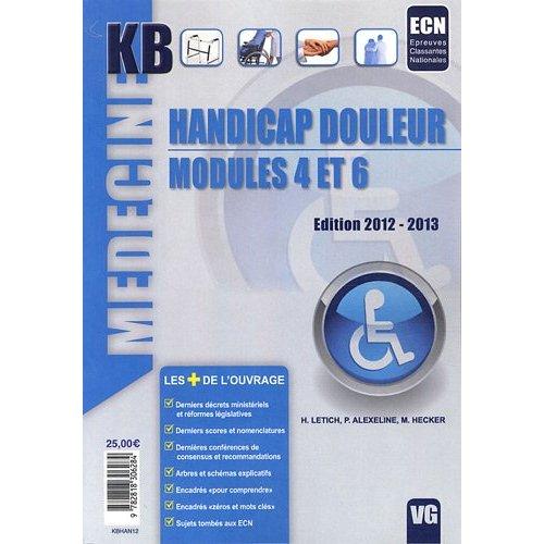 KB HANDICAP DOULEUR MODULES 4 ET 6
