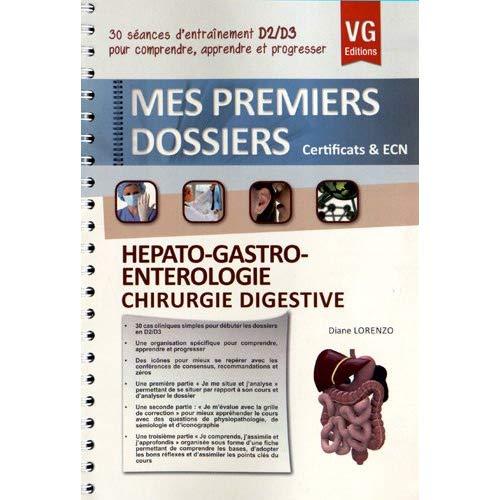 PREMIERS DOSSIERS HEPATO-GASTRO-ENTEROLOGIE