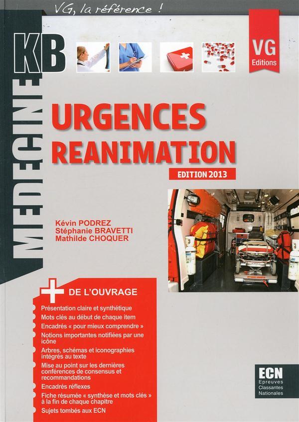 KB URGENCES REANIMATION