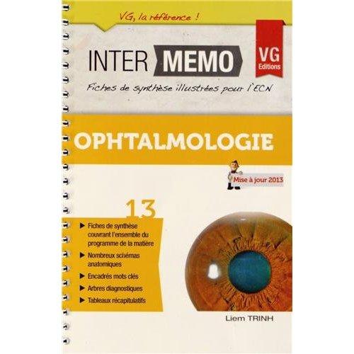 INTER MEMO OPHTALMOLOGIE