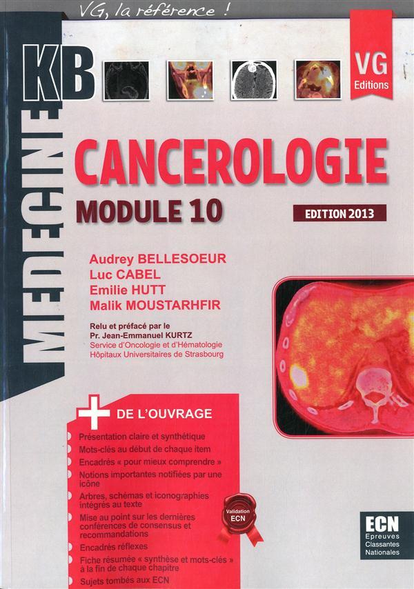 KB CANCEROLOGIE MODULE 10