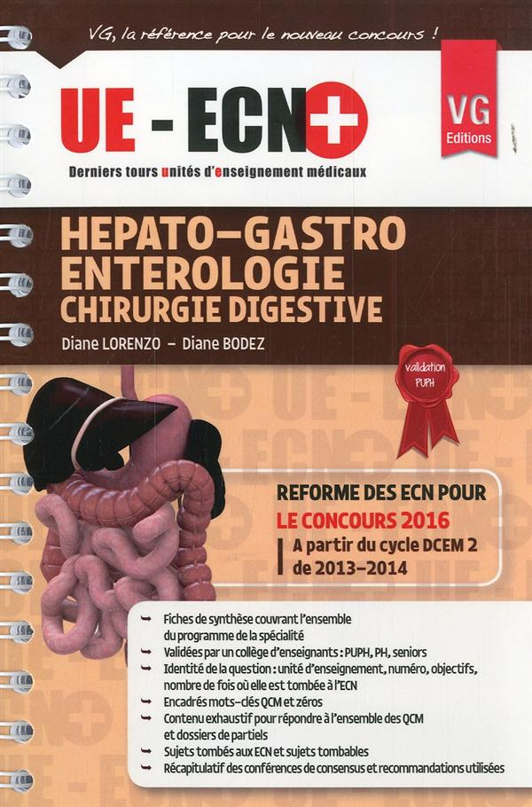 UE ECN + HEPATO GASTRO ENTEROLOGIE ED 2013