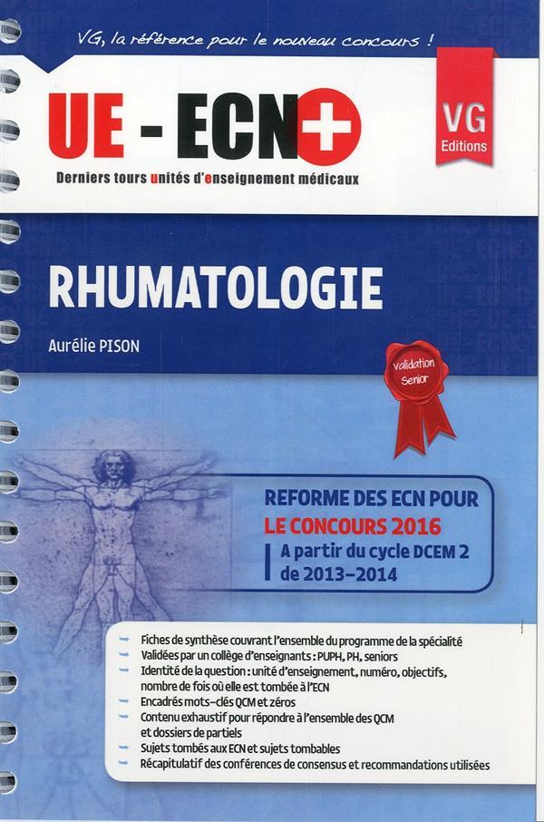 UE-ECN+ RHUMATOLOGIE