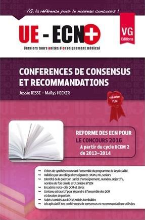 UE ECN+ CONFERENCES DE CONSENSUS ET RECOMMANDATIONS ED 2013
