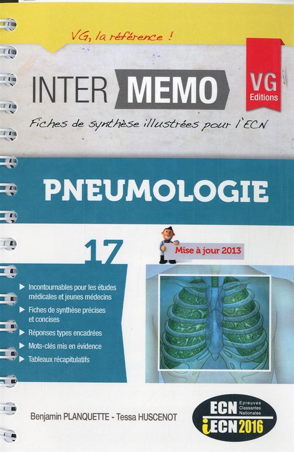 INTER MEMO PNEUMOLOGIE 2013