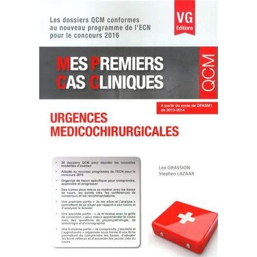 MES PREMIERS CAS CLINIQUES URGENCES MEDICO