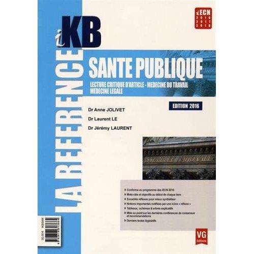 IKB SANTE PUBLIQUE EDITION 2016