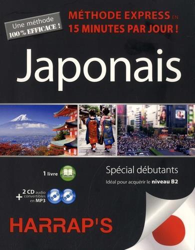 HARRAP'S METHODE EXPRESS JAPONAIS - 2 CD + LIVRE