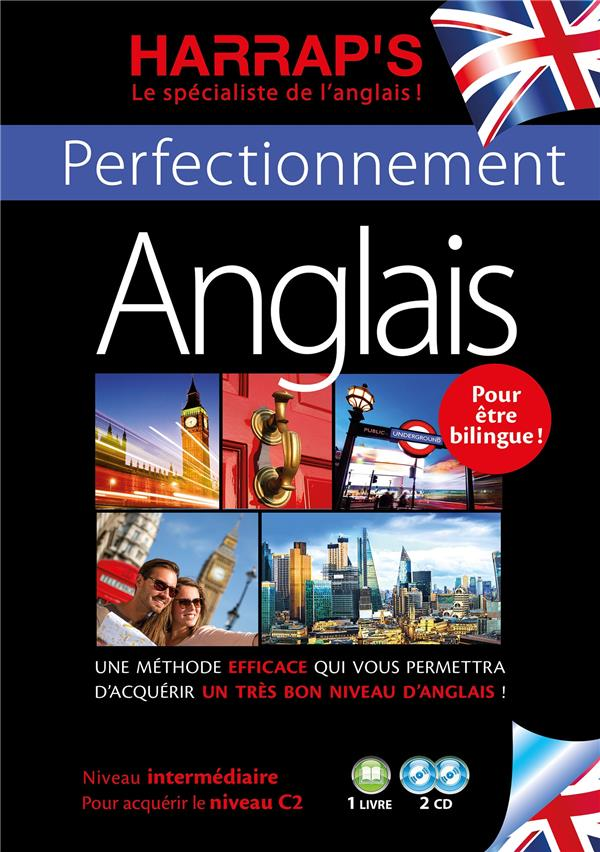 HARRAP'S METHODE PERFECTIONNEMENT ANGLAIS 2 CD + LIVRE