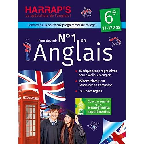 NUMERO 1 EN ANGLAIS 6E AVEC HARRAP'S