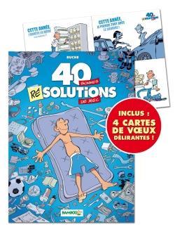 40 BONNES RESOLUTIONS DE MEC T1 + CARTES VOEUX