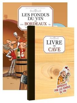 LES FONDUS DU VIN : BORDEAUX + LIVRE DE CAVE OFFERT