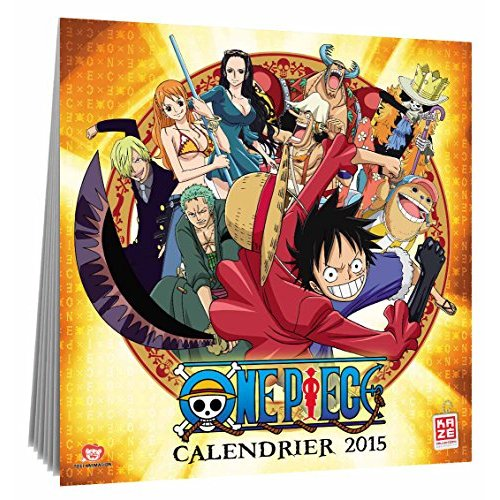 CALENDRIER 2015 ONE PIECE