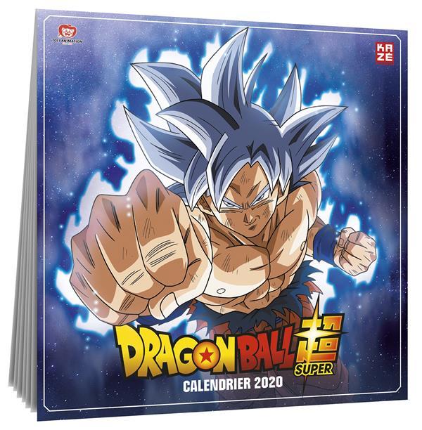 CALENDRIER 2020 DRAGON BALL SUPER