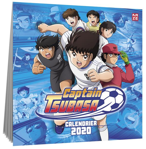 CALENDRIER 2020 CAPTAIN TSUBASA