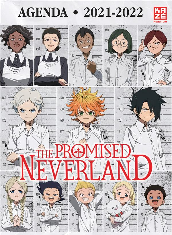 AGENDA SCOLAIRE 2021/2022 THE PROMISED NEVERLAND