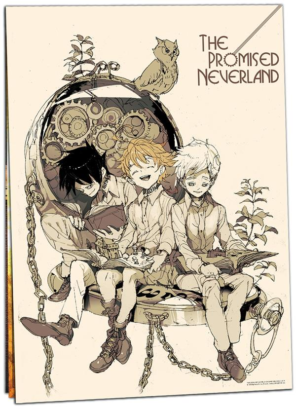 CALENDRIER 2022 THE PROMISED NEVERLAND