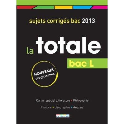 BAC L TOTALE 2013