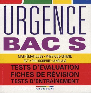 URGENCE BAC S EDITION 2013