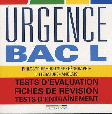URGENCE BAC L 2013
