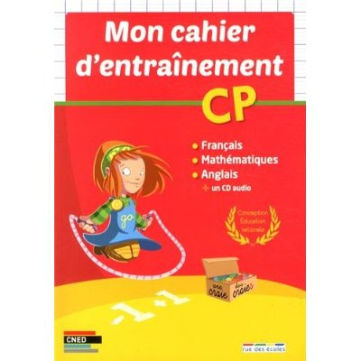 CAHIER D'ENTRAINEMENT CP (MON)
