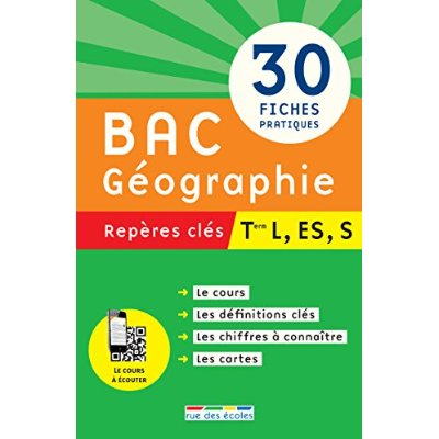 BAC GEOGRAPHIE TERMINALE L ES S REPERES CLES