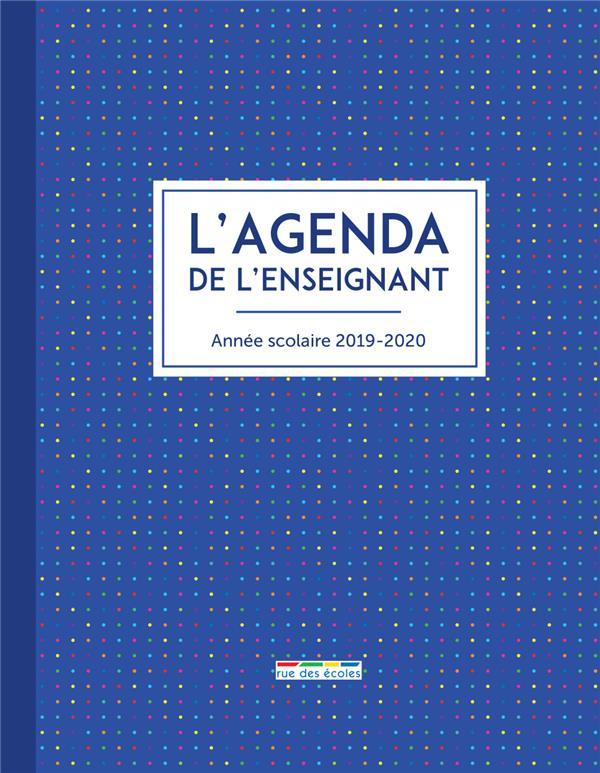AGENDA DE L'ENSEIGNANT (L')