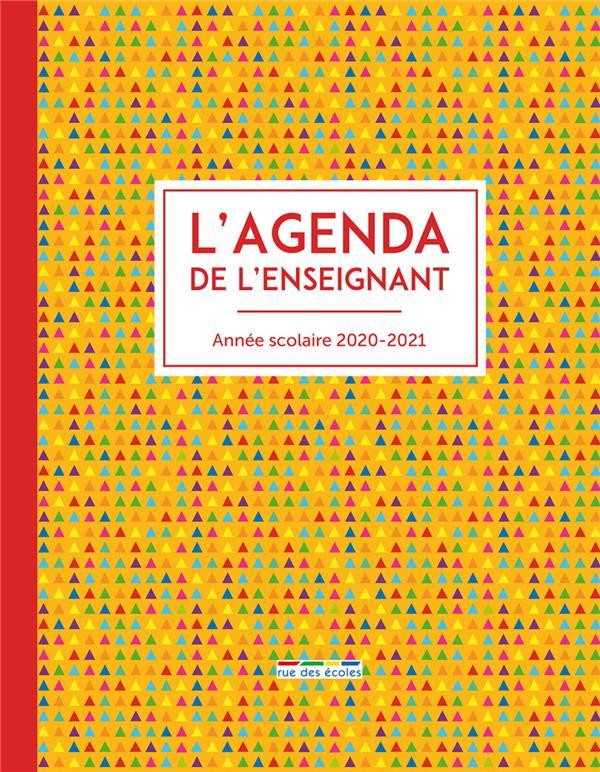 L'AGENDA DE L'ENSEIGNANT 2020-2021