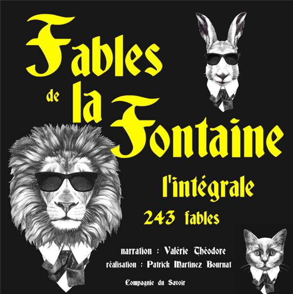 FABLES DE LA FONTAINE - L'INTEGRALE