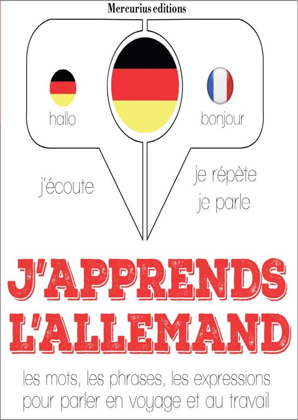 J'APPRENDS L'ALLEMAND