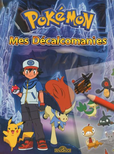 MES DECALCOMANIES POKEMON