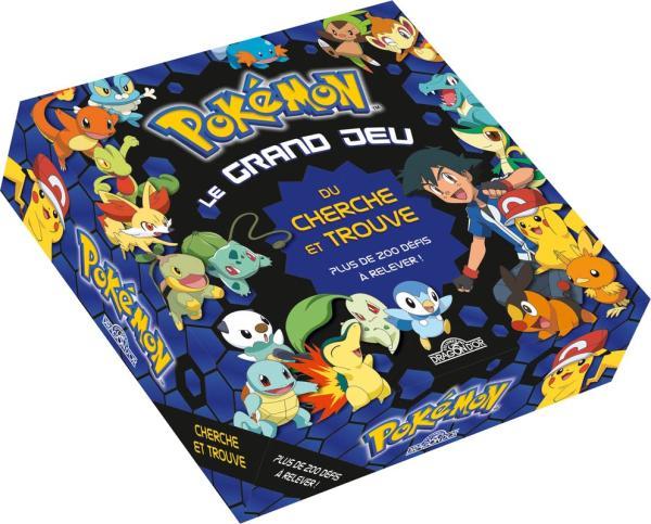 Pokemon Le Grand Jeu Du Cherche Et Trouve Pokemon
