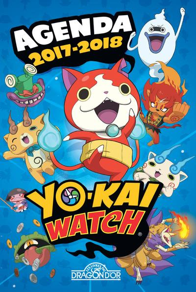 YO KAI WATCH  AGENDA 2017 2018