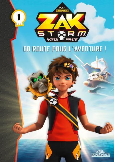ZAK STORM - TOME 1 - EN ROUTE POUR L'AVENTURE ! - VOL1