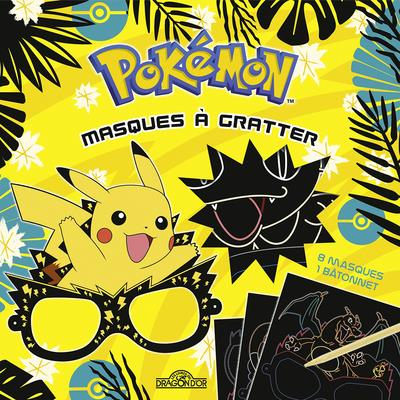 POKEMON - MASQUES A GRATTER